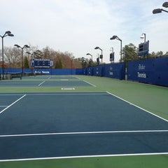 Photo taken at Ambler Tennis Stadium by Pamela C. on 3/16/2013