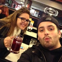 Photo taken at 100 Montaditos by Alejandro A. on 3/11/2013