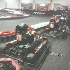 Photo taken at Interlagos karting by Gabby F. on 4/1/2013