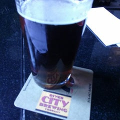 Photo taken at River City Brewing Company by Michael N. on 3/18/2013