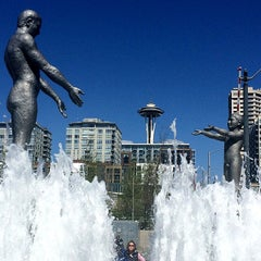 Photo taken at Father & Son Fountain by Petra G. on 4/12/2014