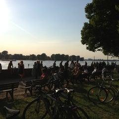 Photo taken at Kiosk am Rhein by Andi R. on 6/6/2013