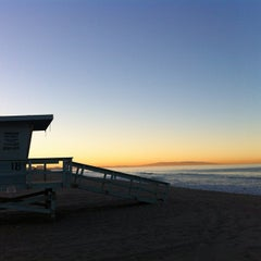 Photo taken at Beach Life Guard Post 18 by Steinar M. on 9/28/2013