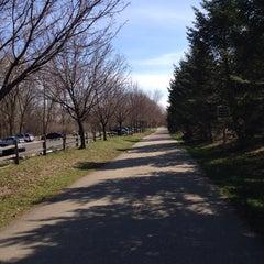 Photo taken at Portage Creek Bicentennial Park by Laura W. on 4/20/2014