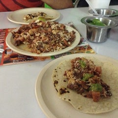 Photo taken at Tacos Don Chema by Jorge Z. on 4/17/2013