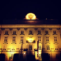 Photo taken at Hofburg Innsbruck by Benjamin W. on 8/29/2013
