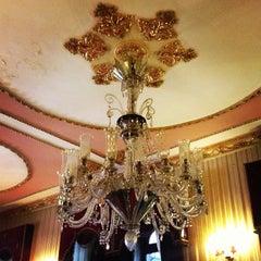 Photo taken at Büyük Londra Oteli by Retro W. on 5/2/2013