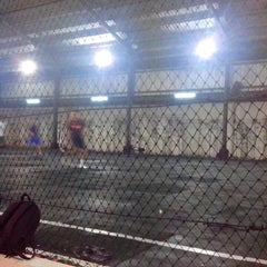 Photo taken at Lampung Futsal by Muhammad H. on 4/23/2013