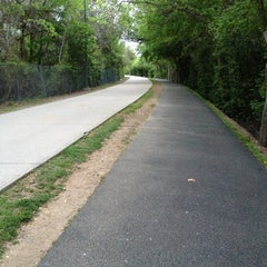 Photo taken at Katy Trail by Lauren O. on 4/7/2013