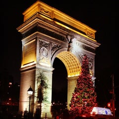 Photo taken at Washington Square Park by Greg C. on 1/4/2013