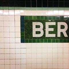 Photo taken at MTA Subway - Bergen St (F/G) by Greg C. on 3/4/2014