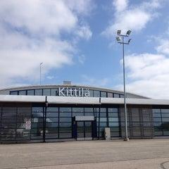 Photo taken at Kittilä Airport (KTT) by Elena B. on 6/5/2013