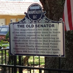 Photo taken at The Old Senator Tree by Meli T. on 3/25/2014