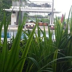 Photo taken at Sheraton Bandara Hotel by Anisha K. on 1/8/2015