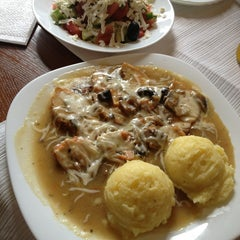 Photo taken at Biala Roza Pizza & Grill by Irina G. on 3/21/2013