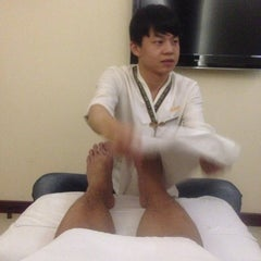 Photo taken at Qian Li Xing Massage Centre by Arvin C. on 12/3/2013