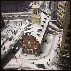 Photo taken at Old State House by Marcus J. on 3/8/2013