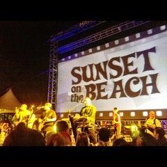 Photo taken at Waikiki Beach Walls by Wesley F. on 9/24/2012