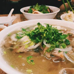 Photo taken at Pho Bang New York by Jessica J. on 3/23/2015