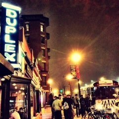 Photo taken at Duplex Diner by Wesley on 12/10/2012