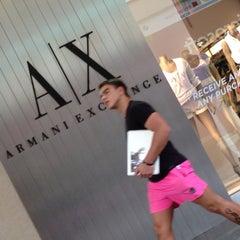 Photo taken at A|X Armani Exchange by Emmanuel C. on 5/10/2013