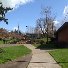 Photo taken at Northwest University by Chelsea G. on 3/22/2013