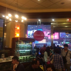 Photo taken at Europa Cafe by Erika on 6/13/2014