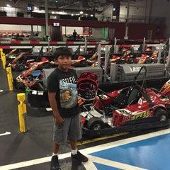 Photo taken at K1 Speed Anaheim by Arturo C. on 5/31/2015