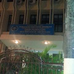 Photo taken at Gedung Joeang 45 by Stella P. on 3/25/2013