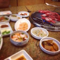 Photo taken at Shin Chon Garden Restaurant by Prashant S. on 8/11/2013
