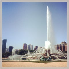 Photo taken at Clarence Buckingham Memorial Fountain by Jamie R. on 6/19/2013