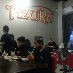 Photo taken at Restoran Azura by . on 3/28/2013