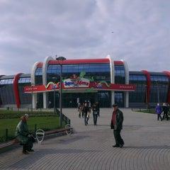Photo taken at Парк Щербакова by Алёна П. on 4/14/2013