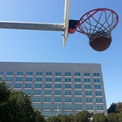 Photo taken at EA Sports Basketball Courts by Gabriel W. on 4/20/2013