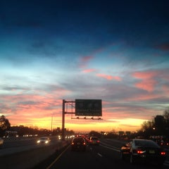 Photo taken at NJ Turnpike Exit 14 by Cris H. on 11/20/2012