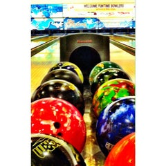 Photo taken at Orleans Bowling Center by Nick H. on 6/1/2015