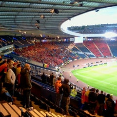 Photo taken at Hampden Park by Edouard B. on 9/6/2013