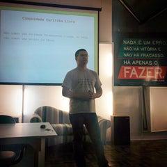 Photo taken at Aldeia Coworking by Eduardo Q. on 9/10/2014
