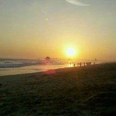 Photo taken at Huntington State Beach by Maria Y. on 7/9/2011