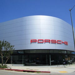 Photo taken at Beverly Hills Porsche Showroom by JayChan on 4/17/2015