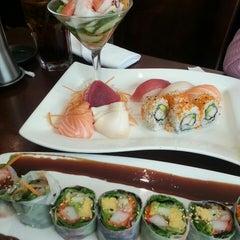 Photo taken at Sushi Siam by Serondie Z. on 7/3/2013