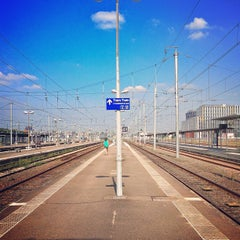 Photo taken at Gare SNCF de Nantes by Rachel on 7/12/2013