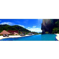 Photo taken at Railay Phutawan Resort by Bruna V. on 10/30/2014