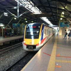 Photo taken at KTM Line - Mid Valley Station (KB01) by Absolute P. on 1/28/2013