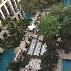 Photo taken at Siam Kempinski Hotel Bangkok by Lit k. on 12/31/2012