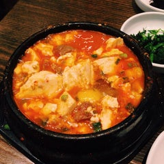 Photo taken at BCD Tofu House by Lori L. on 11/6/2014