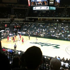 Photo taken at USF Sun Dome by oscar b. on 12/19/2012