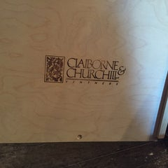 Photo taken at Claiborne & Churchill Vintners by Linzey H. on 3/14/2015