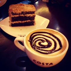 Photo taken at Costa Coffee by Arushi D. on 1/11/2014