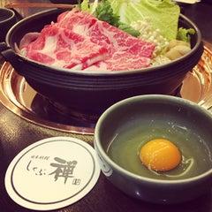 Photo taken at しゃぶ禅 by Lu J. on 2/25/2015